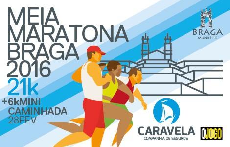 Meia Maratona de Braga 2016 Caravela Seguros