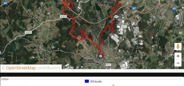 GPX: BTT I Raid Trilhos do Ave 2016