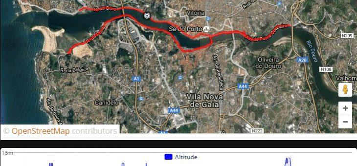 GPX: X Meia Maratona do Porto 2016